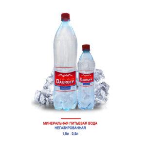 Nước khoáng không ga Dauroff 1,5L