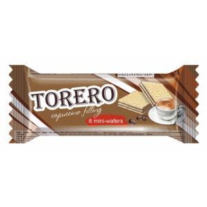 Bánh xốp Torero vị cappuccino, 35 gr.