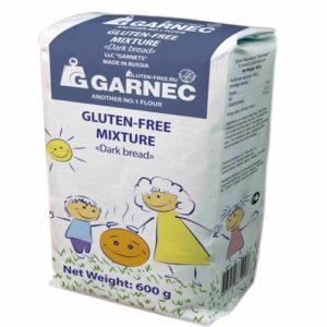 Hỗn hợp bột Bánh mỳ đen không chứa Gluten, 600 gr.