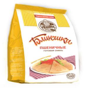 Hỗn hợp bột mì chế biến sẵn Blinchiki (Bánh kếp)