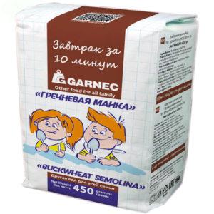 Bột kiều mạch semolina Garnec, 450 gr.