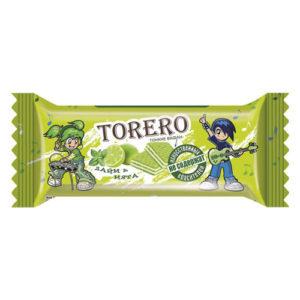 Bánh xốp mỏng Torero vị chanh và bạc hà, 320 gr