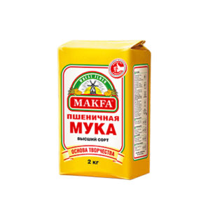 Bột mỳ cao cấp Makfa, 2 kg.