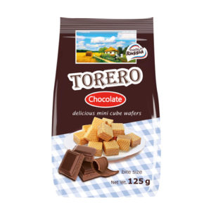 Bánh xốp mini Torero vị Chocolate, 125 gr.