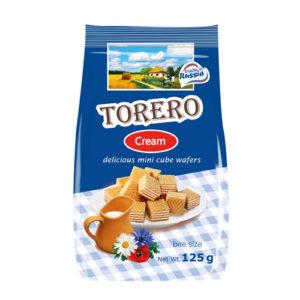 Bánh xốp mini Torero vị Cream, 125 gr.