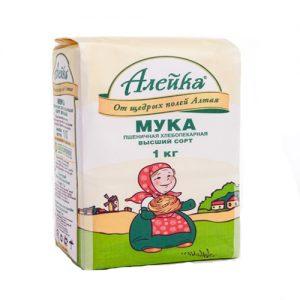 Bột bánh mì lúa mì chất lượng cao Aleika, 1kg