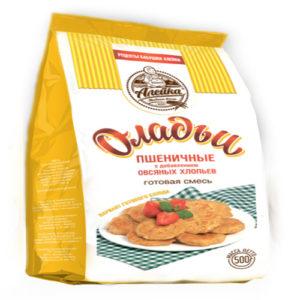 Hỗn hợp bột mì thêm cốm yến mạch Oladi (pancake), 500g