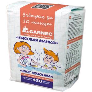 Bột gạo semolina Garnec, 450 gr.