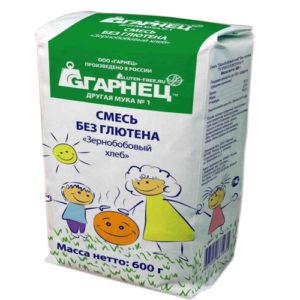 Hỗn hợp bột Bánh mỳ hạt đậu không chứa Gluten, 600 gr.