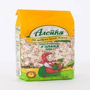 Hỗn hợp cốm 3 loại ngũ cốc Aleika, 400g