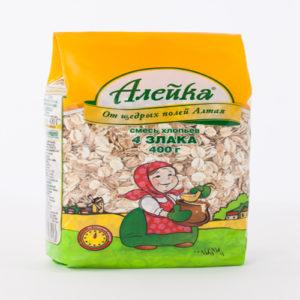 Hỗn hợp cốm 4 loại ngũ cốc Aleika, 400g