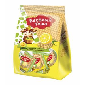 Bánh xốp Veselye Tosha vị chanh, 250 gr.