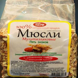 Muesli 5 loại ngũ cốc giàu Prebiotic