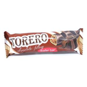 Bánh xốp dạng thanh Torero vị Chocolate, 320 gr