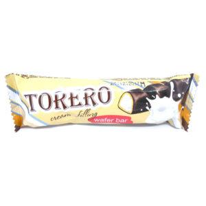 Bánh xốp dạng thanh Torero vị Cream, 320 gr