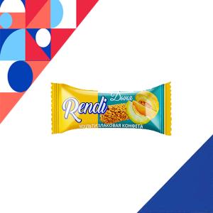 Kẹo ngũ cốc Rendi vị dưa lưới